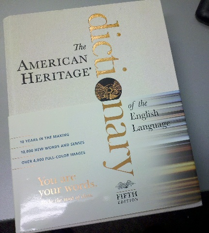 Fifth Edition The American Heritage Dictionary
